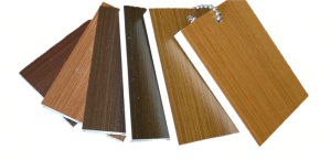 colour samples of the Double Nature stain options